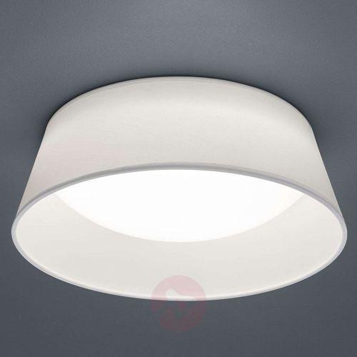 Plafon LAMPA sufitowa PONTS R62871201 Trio abażurowa OPRAWA okrągła LED 14W natynkowa biała (4017807384703)