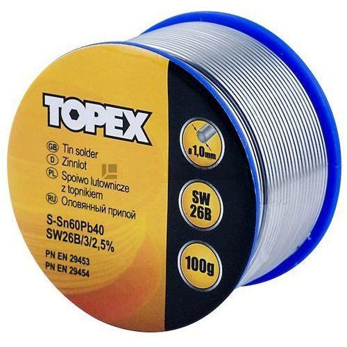 Lut cynowy 60% sn, drut 1.0 mm, 100 g marki Topex
