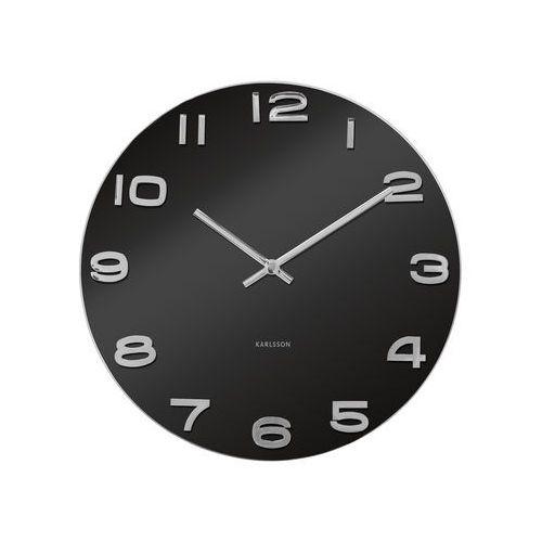 Zegar ścienny Vintage Round black by Karlsson
