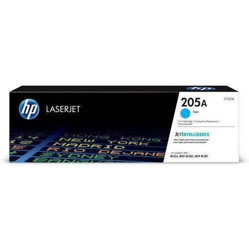 HP 205A oryginalny wkład z błękitnym tonerem LaserJet (CF531A) - KURIER UPS 14PLN, Paczkomaty, Poczta, CF531A