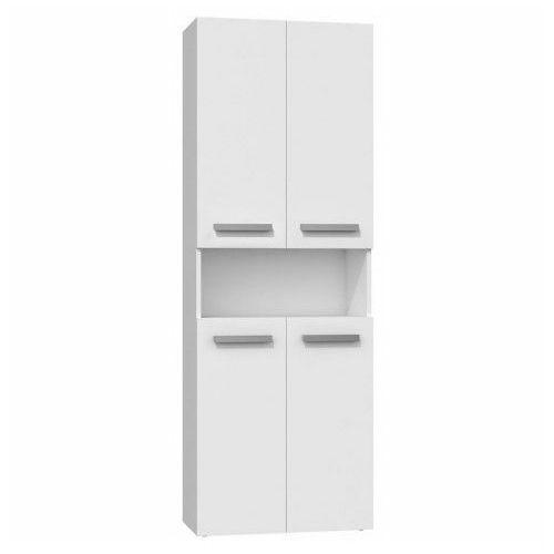 Szafka łazienkowa Malmo 2X - biała, kolor biały