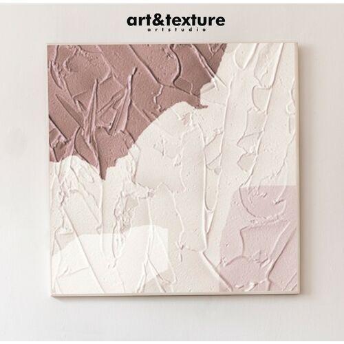GLAM STONE - Wielkoformatowy obraz na płótnie abstrakcyjny art&texture®