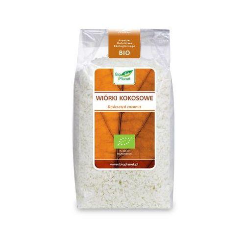 Wiórki kokosowe bio 200g - bio palanet wyprodukowany przez Bio planet - seria czerwona (cukry, syropy, słodk)