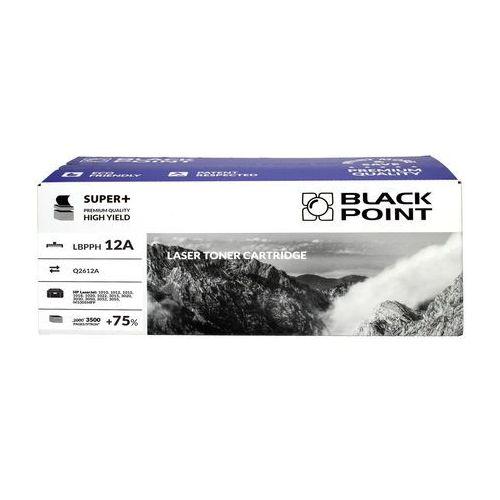 Black point Toner hp q2612a czarny 3.5k bp super+