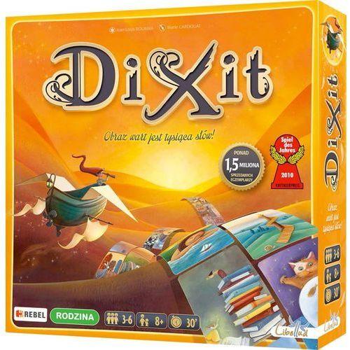 OKAZJA - Dixit, gra towarzyska + zakładka do książki GRATIS (3558380022473)