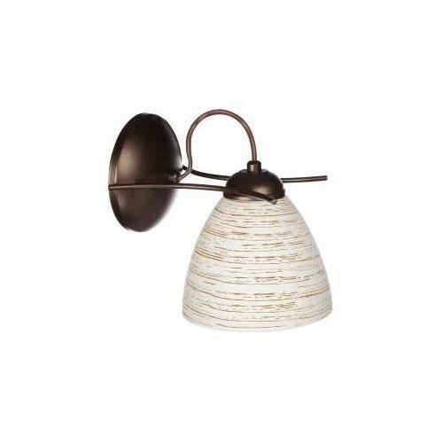 Lemir Robo O2140 K1 RW kinkiet lampa ścienna 1x60W E27 rdza wenge, O2140 K1 RW