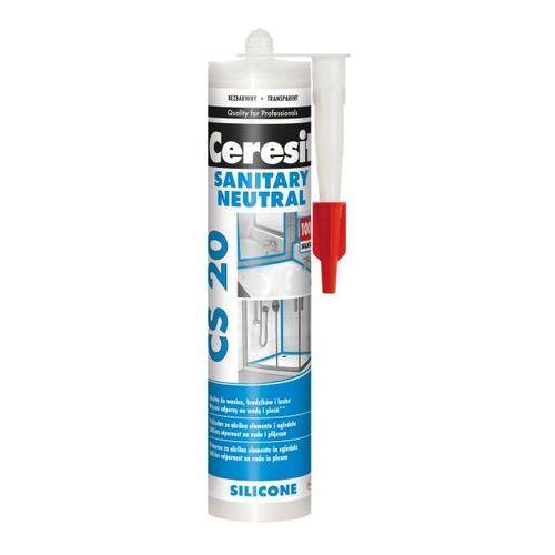 Silikon sanitarny neutral 280 ml bezbarwny marki Ceresit