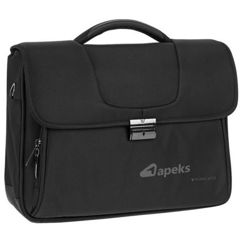 clio torba na laptopa 15,6'' / teczka 2kom. / czarna - black marki Roncato