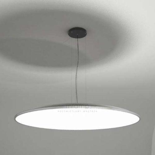 Wisząca LAMPA minimalistyczna WANTO 5525-B/E27/SZ Shilo okrągła OPRAWA zwis szara, 5525-B/E27/SZ