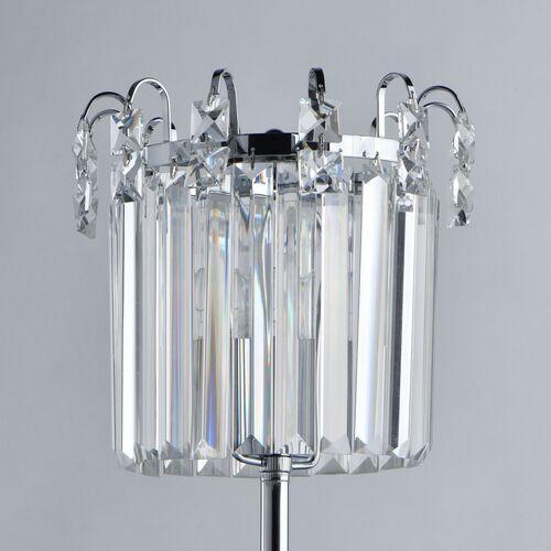 Lampa stołowa kryształowa, chromowana podstaw Adelard MW-LIGHT Crystal (642033101)