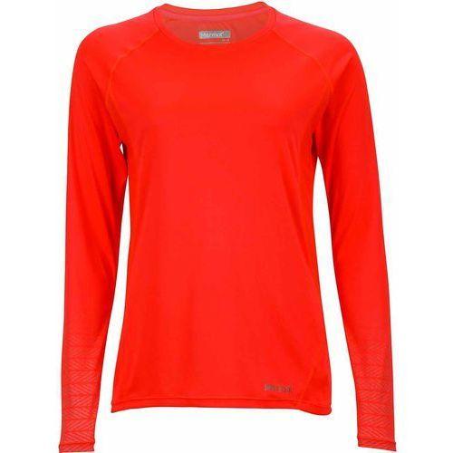 koszulka sportowa wm's crystal ls neon coral s marki Marmot