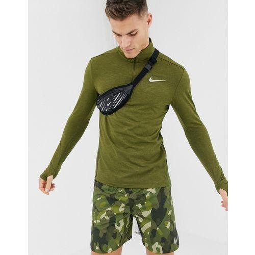 sphere element 2.0 half zip sweat in khaki 928557-395 - green, Nike running