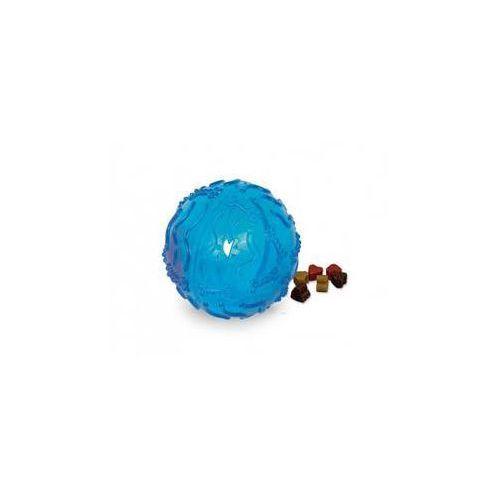 Zabawka dla zwierząt snack ball trp piłeczka na przekąski 10cm niebieska marki Nobby