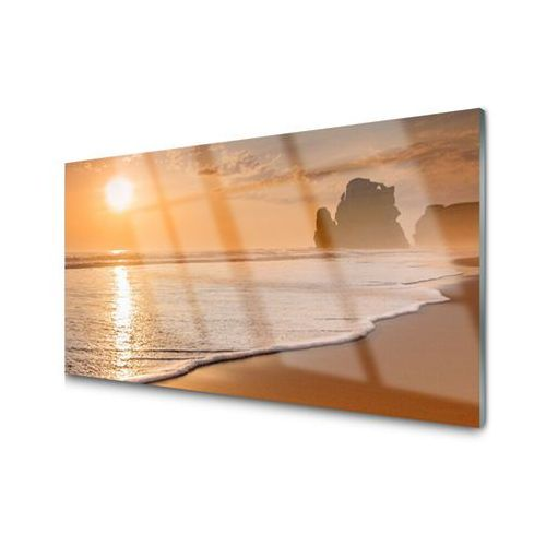 Tulup.pl Obraz akrylowy morze plaża słońce krajobraz