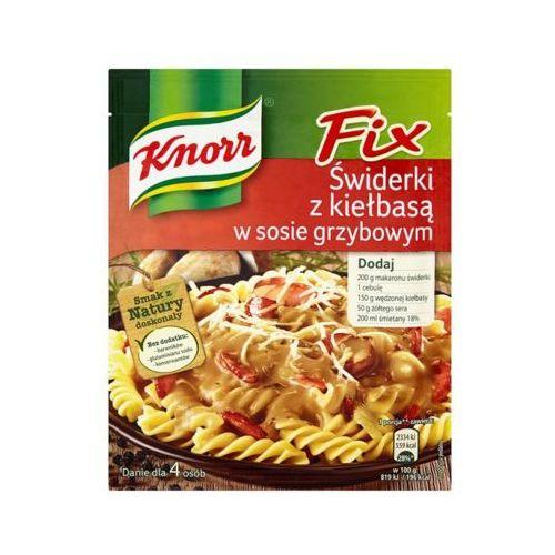 Knorr 36g fix świderki z kiełbasą w sosie grzybowym