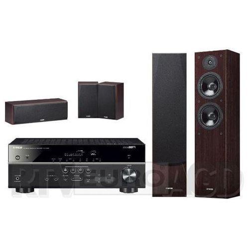 musiccast rx-v485 (czarny), ns-f51/ns-p51 (orzech) marki Yamaha