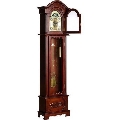 Zegar stojący kronos - antyk replika kolor mahoń marki Mks