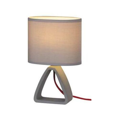Lampa stołowa Rabalux Henry 4340 lampka nocna 1x40W E14 szary