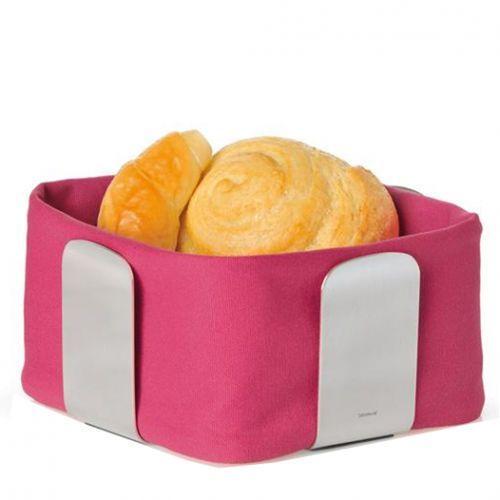 Bawełniany wkład do koszyka na pieczywo 25,5 cm Blomus Desa różowy