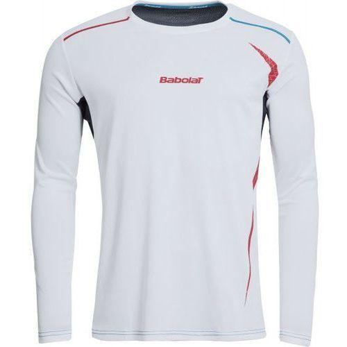 Babolat Long Sleeves Men Match Performance - white