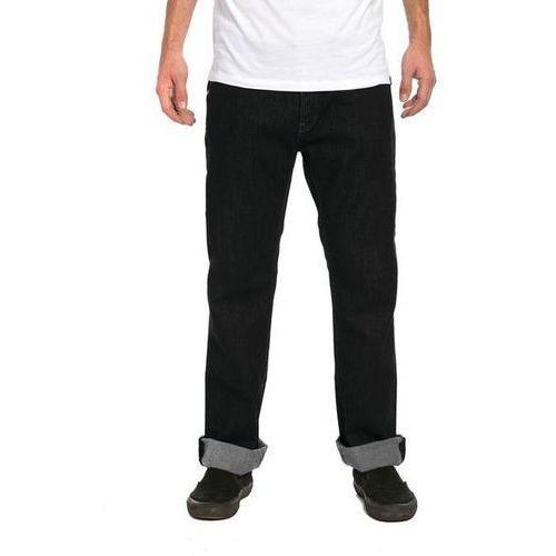 Krew Spodnie - klassic denim pant dark black (058) rozmiar: 32