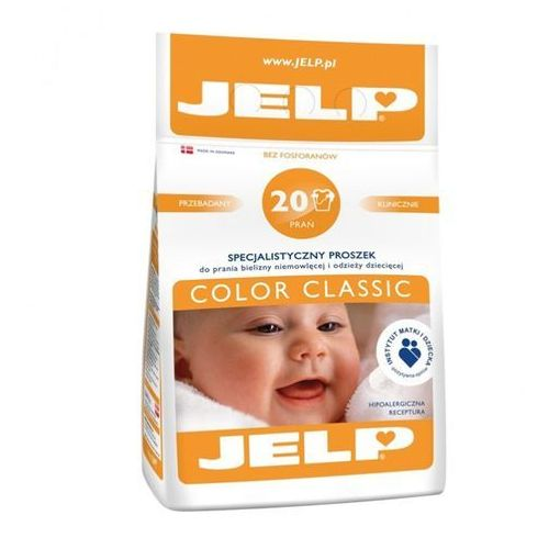 Jelp Pr d/pr 1,6kg 20pr color clas (5720233878041)