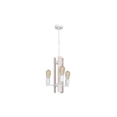 Lampa wisząca Luminex Gera 8275 lampa sufitowa 3x60W E27 biała, 8275