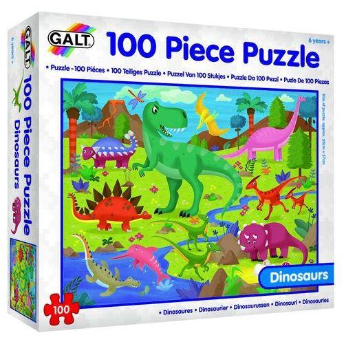 Galt puzzle dinozaury, 100 el.