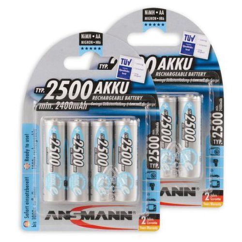 ANSMANN Mignon maxE wstępnie naładowany akumulator AA NiMH o niskim samowyładowaniu, 5035442-590-1