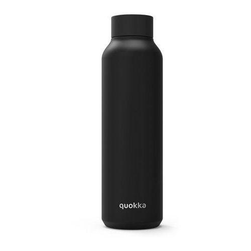 solid butelka termiczna ze stali nierdzewnej 630 ml (jet black) marki Quokka