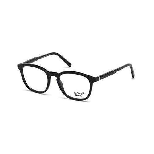 Okulary korekcyjne mb0639 001 marki Mont blanc