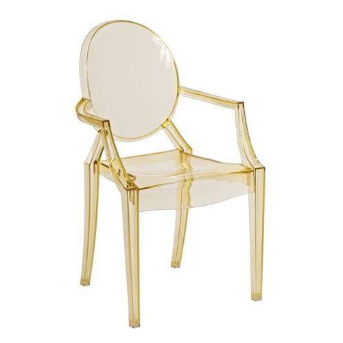 Krzesło dziecięce royal jr. żółty transparent modern house bogata chata marki D2.design