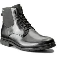 Kozaki - londonpace gtx gore-tex 261269287 black leather, Clarks, 43-45