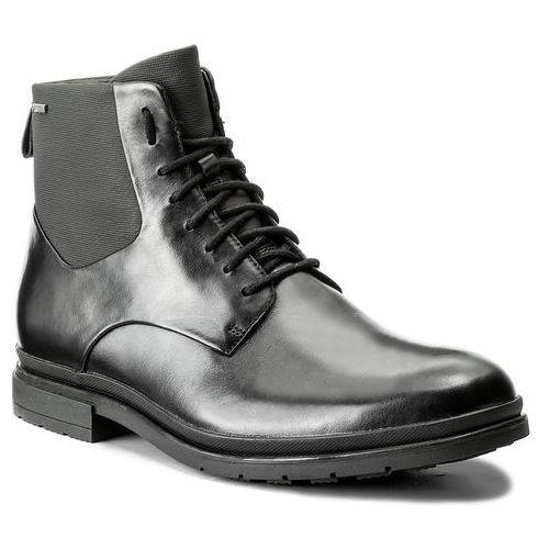 Kozaki CLARKS - Londonpace Gtx GORE-TEX 261269287 Black Leather, w 5 rozmiarach