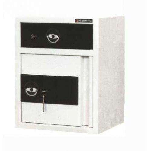 Konsmetal Sejf kasjerski z szufladą ls-62+/i-e zamek elektroniczny