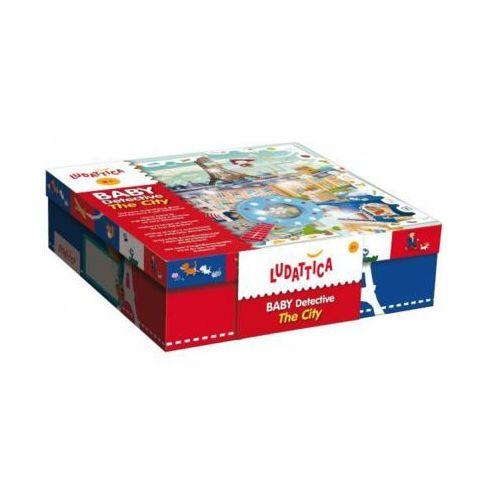 Liscianigiochi Puzzle 35 el. mały de tektyw w mieście