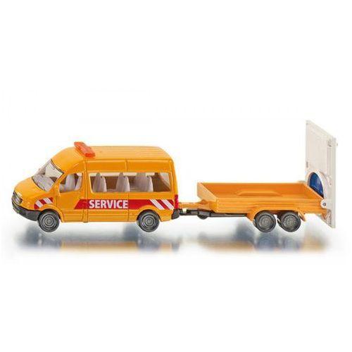 , transporter z przyczepą kontroli ruchu - trefl marki Siku