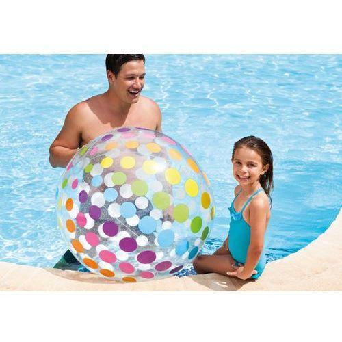 Intex Ogromna piłka plażowa jumbo 107 cm 59065. Najniższe ceny, najlepsze promocje w sklepach, opinie.