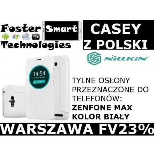 Nillkin  case klapka zenfone max white z pl fv23%