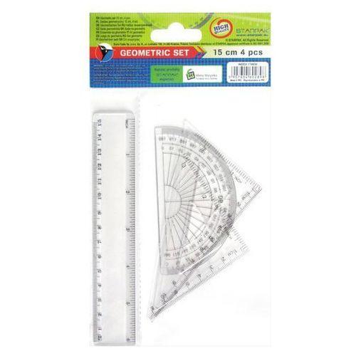 Starpak Zestaw geometryczny 174930 4 elementy 15 cm