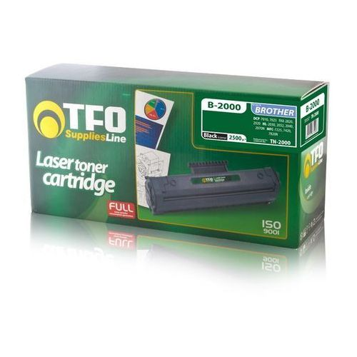 Telforceone Toner tfo b-2000 (tn2000) 2.5k do brother dcp-7010, dcp-7025, fax-2820, fax-2920, hl-2030, hl-2032