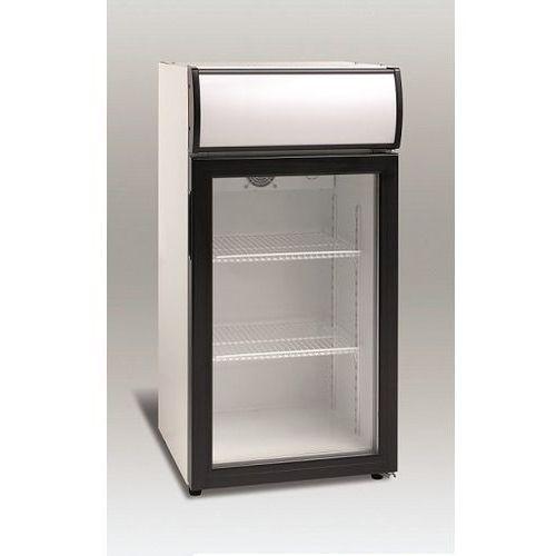 Szafa chłodnicza przeszklona   80L   460x460x(H)950mm