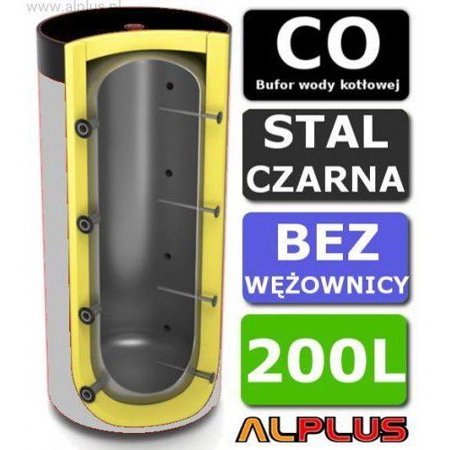 Ermet Bufor 200l bez wężownicy do co - zbiornik buforowy zasobnik akumulacyjny 200 litrów, 129cm x 63cm, - wysyłka gratis