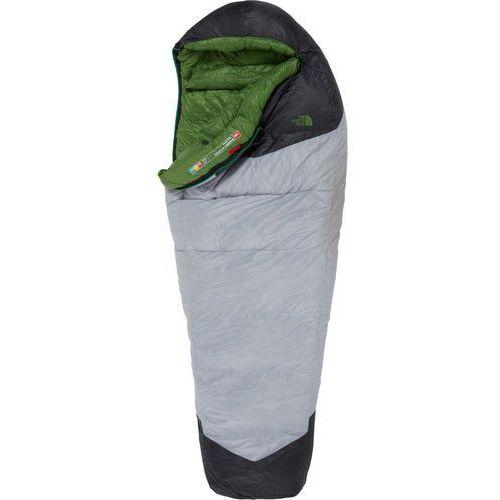 The north face green kazoo sleeping bag regular, high rise grey/adder green left zipper 2019 śpiwory (0191476115074)