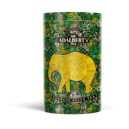 Sir adalbert's soursop green tea liściasta puszka marki Sir adalbert's tea