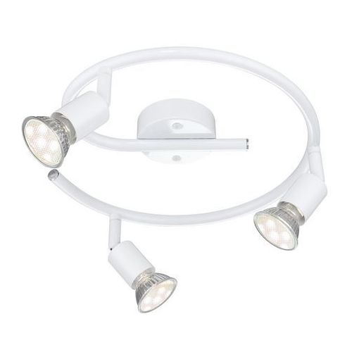 Globo Lampa sufitowa LED Biały, 3-punktowe - Nowoczesny - Obszar wewnętrzny - OLANA - Czas dostawy: od 6-10 dni roboczych, 57381-3L