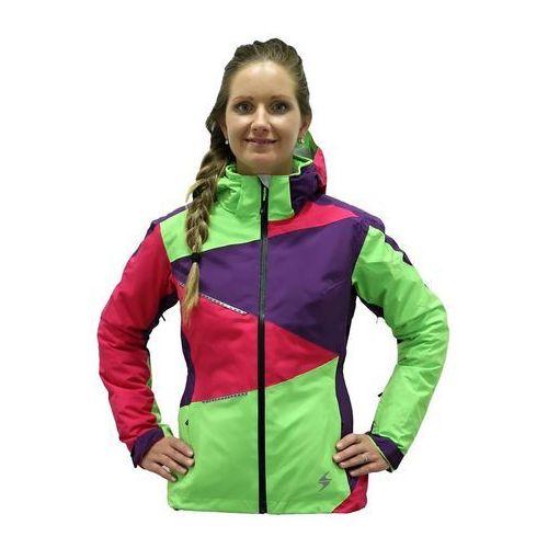 viva performance ski jacket zielony l różowy 2015-2016 marki Blizzard