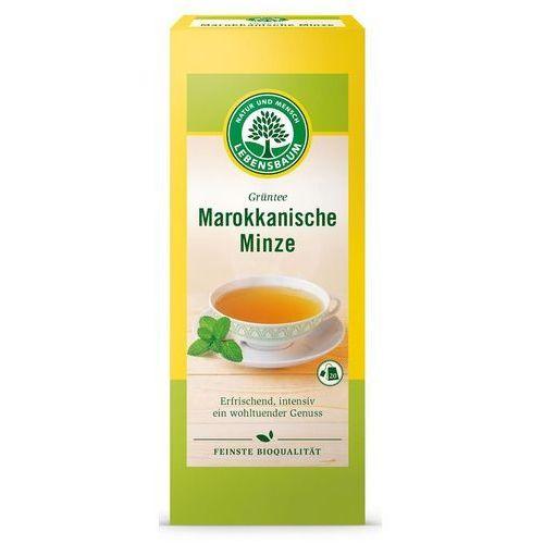 Lebensbaum (przyprawy, herbaty, kawy) Herbata zielona z miętą marokańską bio 20 x 2 g - lebensbaum (4012346519005)
