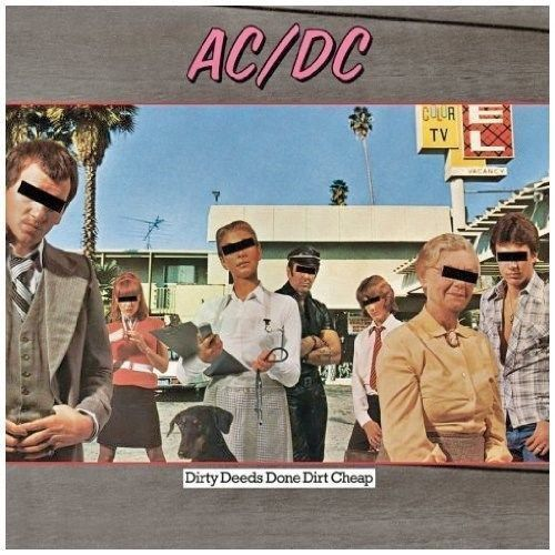 AC/DC - DIRTY DEEDS DONE DIRT CHEEP (CD)