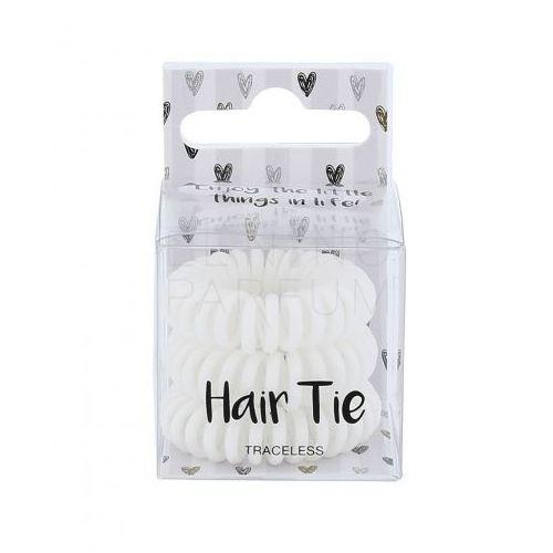2K Hair Tie gumka do włosów 3 szt dla kobiet White (4250979342106)